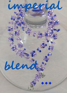 IMPERIAL BLEND: $19.99..light lavender, royal blue, crystal clears. INTERCHANGEABLE JEWELRY CHAINS that becomes a: lanyard, necklace, choker, belt, or eyeglass chain. Includes gift packs with all connector pieces needed.