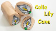 Another beautiful video by Monica Resta.   Easy Calla lily cane polymer clay tutorial - Millefiori Fimo