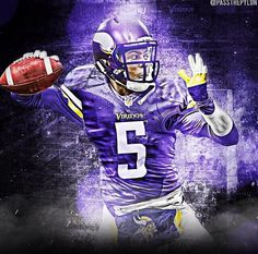 Teddy Bridgewater Football Is Life, Nfl Football, American Football, Football Players, Football Helmets, Baseball, Minnesota Vikings Football, Viking 1, Viking Life