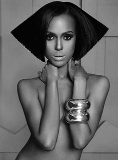 funky futuristic Kerry Washington (b. 1977 jan 31 in Bronx, NY) (yes, the hottie from 2012 ABC Scandal + Ray 2004)