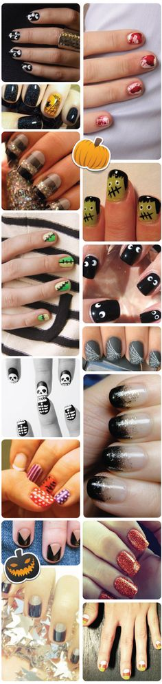 Halloween nails!!