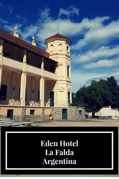 Eden Hotel was a mountain resort for wealthy Argentineans founded in 1898. Located in La Falda, Cordoba, visitors can take guided tours around what remains. (scheduled via http://www.tailwindapp.com?utm_source=pinterest&utm_medium=twpin&utm_content=post86247713&utm_campaign=scheduler_attribution)