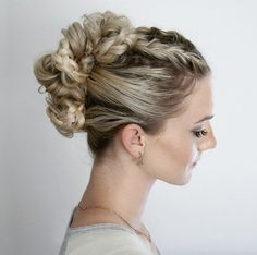 Braided updo by Annie Pearce