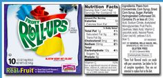 """General Mills or Generally Toxic. A post about Fruit Roll Ups and what is in this interesting """"fruit snack"""". Scroll to bottom of article for Actual Fruit Snack Alternatives. #charlottepediatricclinic"""