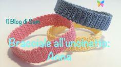 Spiegazione del bracciale all'uncinetto: Anna