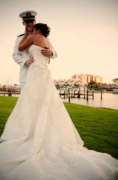 Unique Ideas For The Not-So-Traditional Bride To Be. Anyone who's ever been involved in preparing or planning a wedding, whether small or large, will tell you what an ordeal it can be. Dream Wedding, Wedding Day, Wedding Expenses, Military Love, Portraits, Here Comes The Bride, Marry Me, Wedding Pictures, Wedding Bells