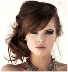 Messy Side Hairstyles For Wedding