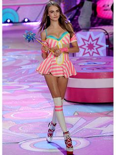 Victoria's Secret Fashion Show: Best Moments Ever: Cara Delevinge's Debut