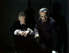 Third Doctor (Jon Pertwee), Master (Roger Delgado) one of my absolute favorite bromances of all time
