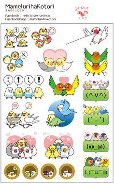 parakeet's mini sticker LINE STORE URL https://store.line.me/stickershop/search/creators/en?q=mamelurihakotori FACEBOOK PAGE https://www.facebook.com/mamelurihakotori Thank you for seeing. Like us on Facebook now!