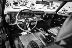 Chevelle SS Interior - Classic Muscle Car