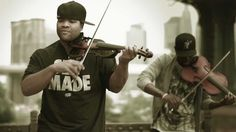 "Black Violin - ""A Flat"" (Music Video) (2012) ----  2 young black guys mixing the classical and Hip-hop genres"