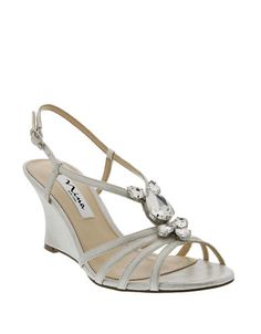 c0955cce7fb62 Nina - Mineola Satin Wedge Sandals