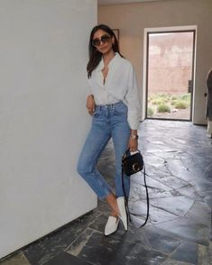 Which outfit are you most likely to wear? Casual Work Outfits, Classic Outfits, Mode Outfits, Stylish Outfits, Fashion Outfits, Fashion Mode, Look Fashion, Womens Fashion, Workwear Fashion