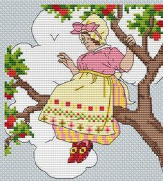 . Old Women, Cross Stitch Patterns, Embroidery, Comics, Country, People, Cross Stitch, Frames, Kitchen