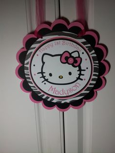 Hey, I found this really awesome Etsy listing at http://www.etsy.com/listing/156629457/hello-kitty-door-sign-new