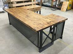 industrial office desk. the industrial u shape carruca office desk - modern design v
