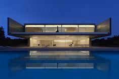 Maison contemporaine en aluminium