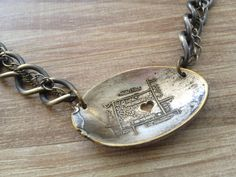 Wyoming Vintage Spoon Necklace with Heart cut out by GeorginaBaker, $42.00