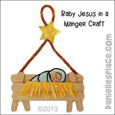 Childrens Christmas Crafts, Christmas Bible, Kids Christmas Ornaments, Bible Crafts For Kids, Christmas Crafts For Kids To Make, Christmas Activities, Toddler Crafts, Christmas Ideas, Jesus Crafts