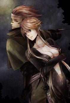 Sengoku Basara - Kasuga & Sasuke