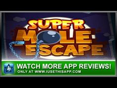 Super Mole Escape iPhone App - Best iPhone App - App Reviews #iphone #android #apps