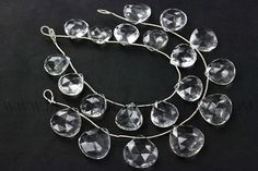 Crystal Quartz Beads Heart Faceted Quality AA 14 to 17 #crystalquartz #crystalquartzbeads #crystalquartzbead #crystalquartzheart #heartbeads #beadswholesaler #semipreciousstone #gemstonebeads #beadsogemstone #beadwork #beadstore #bead