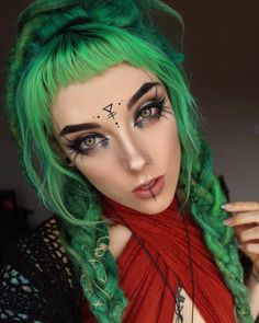 Witchy Makeup, Halloween Makeup Witch, Goth Makeup, Makeup Art, Beauty Makeup, Eyebrow Makeup, Beautiful Eye Makeup, Natural Makeup Looks, Cosplay Makeup