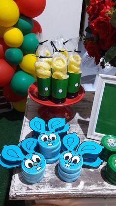 81 IDEIAS FESTA TURMA DA MÔNICA - VENHA CONFERIR! Happy Birthday B, Birthday Cake, Birthday Parties, Candy Shop, Baby Shark, Lego Ninjago, Holiday Parties, Alice, Picnic