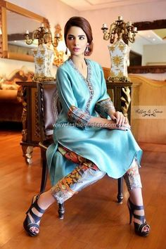Riffat and Sana Eid Collection 2013 for Women 004
