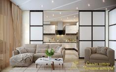 Сейчас набирает популярность такое решение зонирования интерьера, как межкомнатные шторы. Связано это с тем, что современный дизайн тяготеет к многообразию, возможности «играть с пространством», выделяя и объединяя различные зоны пространства квартиры. Как нельзя лучше, эту роль выполняют японские панели — они отлично служат не только для защиты окон , но и в качестве межкомнатных перегородок. Комбинируя различные тканевые материалы, можно добиться полного преображения жизненного…