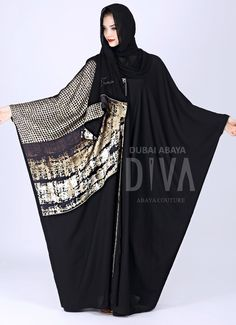 Eid Outfits, Modest Outfits, Fashion Outfits, Niqab Fashion, Modest Fashion, Modern Abaya, Abaya Dubai, Arabic Dress, Abaya Designs