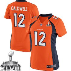 Andre Caldwell Elite Jersey-80%OFF Nike Andre Caldwell Elite Jersey at Broncos Shop. (Elite Nike Women's Andre Caldwell Orange Super Bowl XLVIII Jersey) Denver Broncos Home #12 NFL Easy Returns.
