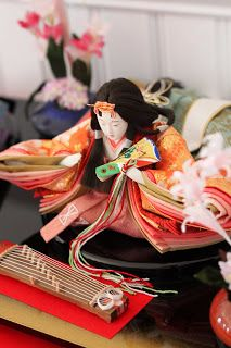 Japanese 'hinamatsuri' festival