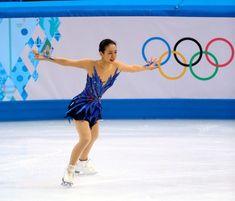 〈ソチ五輪・フリー(2/20)〉 女子フリーの演技をする浅田真央=山本裕之撮影