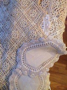 19th-century Armenian lace, needle lace