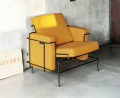 steel arm chair- TRAFFIC - MAGIS
