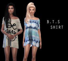 BTS Shirt recolors at Leo Sims • Sims 4 Updates