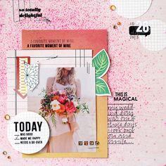 Ann-Marie Espinoza | Layouts Using Clearly Kelly