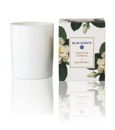 Blue Scents Candle Gardenia