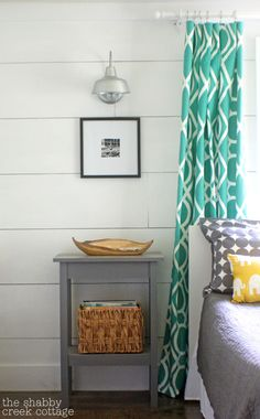 how to DIY plank walls to get a cottage/farmhouse style look.