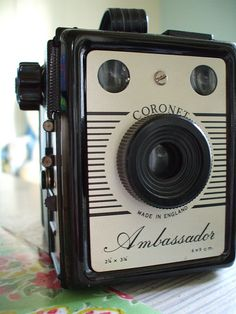 Coronet Ambassador #vintage #camera