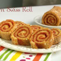 Jam Swiss Roll