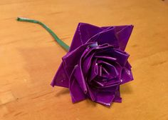 Small Duct Tape Flowers by DuctTapeArtBySarah on Etsy