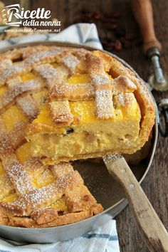 most delicious italian food Italian Desserts, Italian Recipes, Sweet Recipes, Cake Recipes, Italian Cheesecake, Sweet Cooking, Torte Cake, Best Banana Bread, Sweet Pie