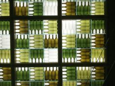 press club bottle wall
