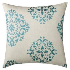 "Threshold™ Oversized Seville Toss Pillow - Turquoise (24x24"")"