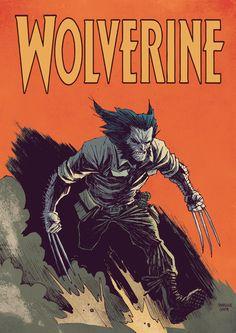 Wolverine by Marcelo-Costa.deviantart.com on @deviantART