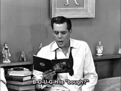 ▶ I love Lucy: English Pronunciation - YouTube Example of difficulties with bough, rough, cough, through, enough, etc.
