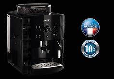 @KRUPS vous présente les Machines à café expresso avec broyeur #beantocup